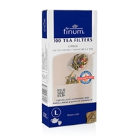 Finum Paper Tea Filters - Large - Makes up to 6 Cups