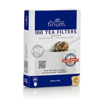Finum Paper Tea Filters -  Medium - Make up to 4 Cups