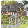 Trivet - Lana's Storybook English Cottage