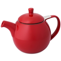 Curve Teapot, Red 24 oz.