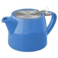 Stump Teapot, Blue, 18 oz.