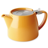 Stump Teapot, Mandarin, 18 oz.