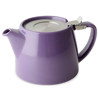 Stump Teapot, Purple, 18 oz.