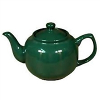 2 Cup Ceramic Teapot Green