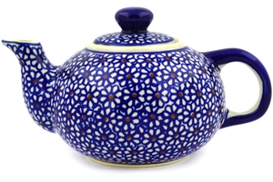 Polish Pottery Teapot, 19 oz.