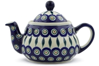 Polish Pottery Teapot, 23 oz.