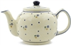 Polish Pottery Teapot, 34 oz.