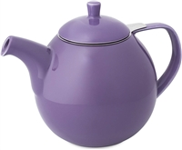 Curve Teapot, Purple 24 oz.