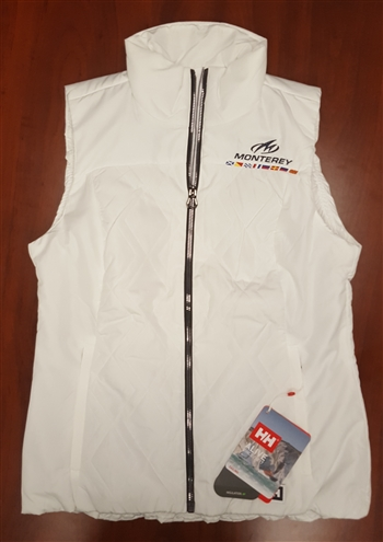 LADIES Helly Hansen Crew Insulator Vest - WHITE