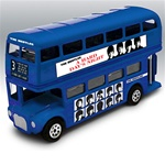 The Beatles - Album Cover Diecast Buses Wave A Assortment