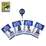 The Flash - STAR Labs Retractable ID Badge Set 2017 San Diego Comic-Con Exclusive