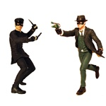 The Green Hornet - Movie Action Figures - The Green Hornet and Kato - Factory Sealed Case of 6