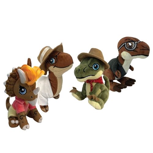 Aurora Monkey Stuffed Animal, Jurassic Park Clawzplay Assortment 1