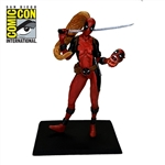 Deadpool - Lady Deadpool Metal Miniature