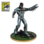 Justice League - Cyborg Heavy Metals Miniature