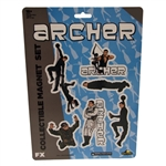 Archer - Die-Cut Collectible Magnet Set Tactical Equipment