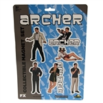 Archer - Die-Cut Collectible Magnet Set Best Dressed