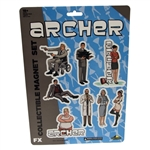 Archer - Die-Cut Collectible Magnet Set Team