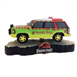 Jurassic Park - Park Explorer Vehicle Premium Motion Statue