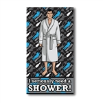 Archer - I Seriously Need A Shower Beach / Bath Towel
