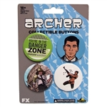 Archer - Dangerzone Button Set