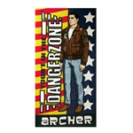 Archer - Dangerzone Beach / Bath Towel
