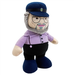 """GEORGE R.R MARTIN TALKING PLUSH DOLL SIGNED SDCC /""""GAME OF THRONES/"""""""