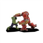 The Avengers - Hulk vs Hulkbuster Metal Miniature