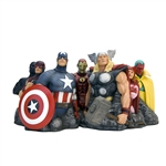 The Avengers - Assemble Alex Ross Signature Edition Fine Art Sculpture