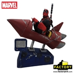 Deadpool - Rocket Ride Premium Motion Statue