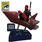 Deadpool - Rocket Ride Premium Motion Statue Signature Edition 2017 San Diego Comic-Con Exclusive