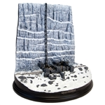 Game Of Thrones - Castle Black and the Wall Desktop Sculpture
