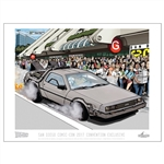 Back To The Future - San Diego Comic-Con Convention Exclusive Print