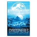 Jurassic World - Gyrospheres Large Metal Sign