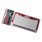 Jaws - Bigger Boat License Plate Frame