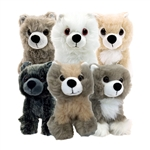 Game Of Thrones - Direwolf Cub 6 Inch Plush Box Set 2015 & 2016 San Diego Comic-Con Convention Exclusive Bundle: The Complete Set