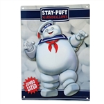 Ghostbusters - Stay Puft Marshmallow Man Metal Sign