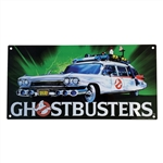 Ghostbusters - Ecto 1 Metal Sign