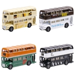 The Beatles - Famous Album Cover Diecast Bus Assortment Wave B