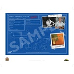 James Bond - Golden Gun Limited Edition 'Q-Branch' Blue Print
