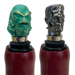 Universal Monsters - The Creature & Frankenstein Bottle Stopper Box Set 2019 San Diego Comic-Con Exclusive