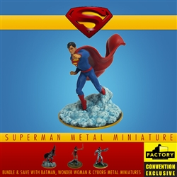 Superman - Metal Miniature 2020 Consolation-Con SDCC Exclusive