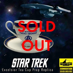 Star Trek - Excelsior Tea Cup Prop Replica 2020 Consolation-Con SDCC Exclusive