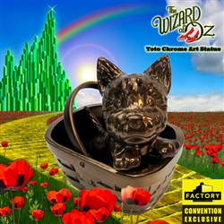 Wizard Of Oz - Toto Chrome Art Statue 2020 Consolation-Con SDCC Exclusive