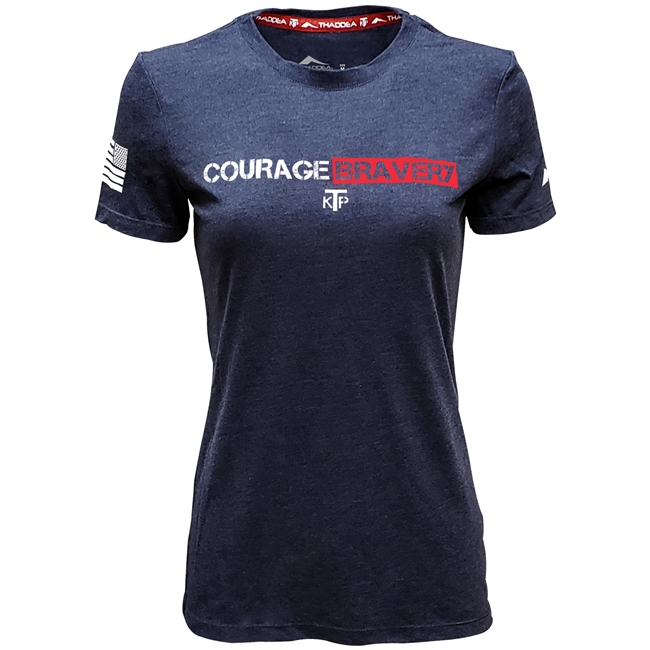 THADDEA KTP Courage Bravery S/S Top