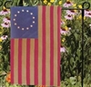13 Star Tea Dyed Cotton Garden Flag