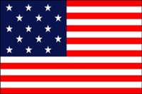Historical 'Star Spangled Banner' Nylon Flag