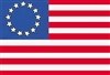 Historical Betsy Ross Nylon Flag Polehem