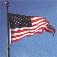 US Hercules Polyester Flag
