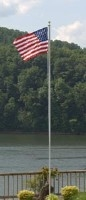 Sectional American Spirit Flagpole